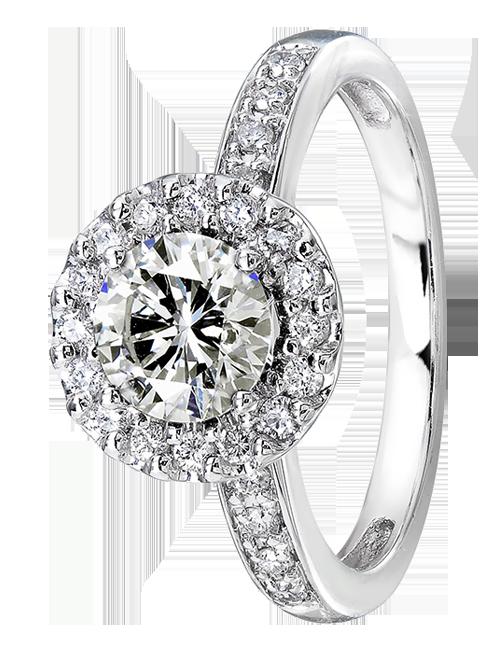 Δαχτυλίδι λευκόχρυσος 18Κ με διαμάντια κοπής brilliant. 63cfcc8f216