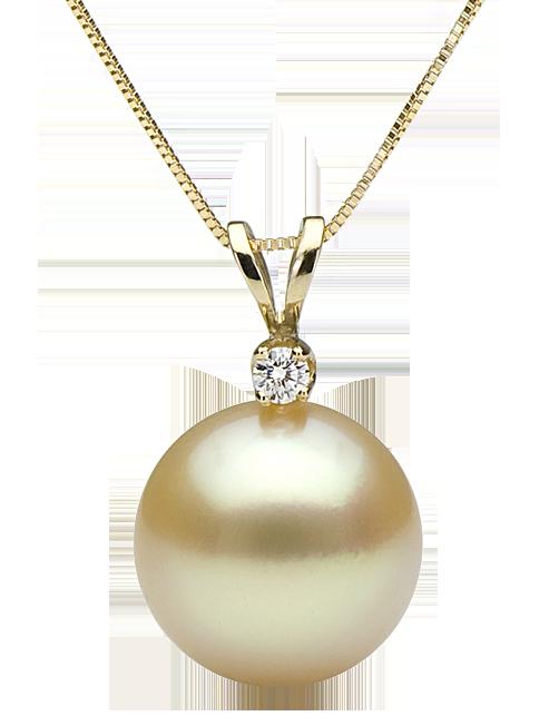 ... Μενταγιόν λευκόχρυσος Κ18 με διαμάντια κοπής brilliant και μαργαριτάρι  South Sea 58a5ea00184